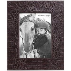 Reed & Barton Leather Picture Frame
